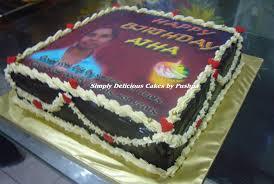 simply edible simply delicious cakes birthday cake edible image