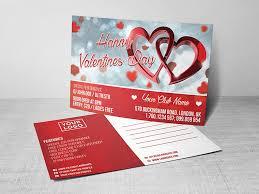 valentine u0027s day postcard psd template landisher