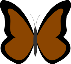 brown butterfly clipart cliparting com