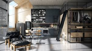 Kitchen Living Room Designs 32 Industrial Style Kitchens That Will Make You Fall In Love