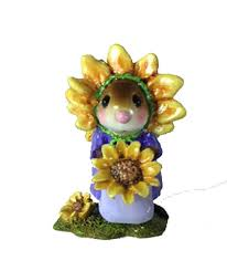 miss sunflower by wee forest folk