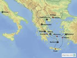 Map Of Greece And Italy by Journeys Of Paul In Greece And Italy June 21 U2013 July 6 2018