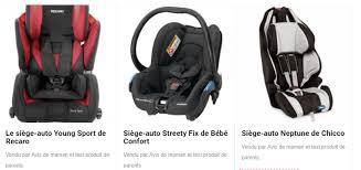 choisir siege auto bébé deux conseils pour choisir siège auto