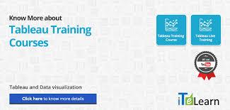 tableau visualization tutorial tableau training online courses tutorial online