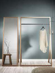 garderobe designer kleiderständer framed rack aus holz nordic tales