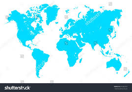world map stock image turquoise world map stock vector stock vector 691042357
