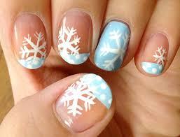 cute nail art for winter