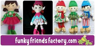 sewing patterns christmas elf christmas elf sewing pattern tutorial funky friends factory