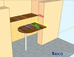 fabriquer bar cuisine fabriquer une table bar de cuisine table de cuisine a fixer au mur