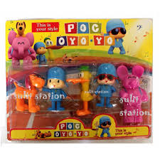 pocoyo cake toppers pocoyo figures cake topper toys toys on carousell