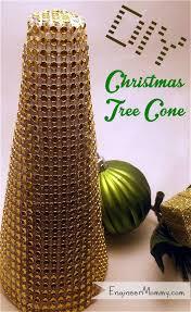bling ribbon bling ribbon christmas tree cone
