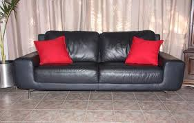 Stylish Fielli Genuine Leather Couch Italian Leather Sofa In - Sofa in leather