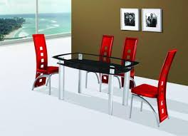 cheap red dining table and chairs kitchen dining afurniturecompany