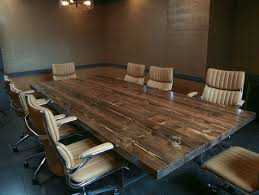 Unique Conference Tables 10ft Turkish Steel Conference Table Rustic Boardroom Table