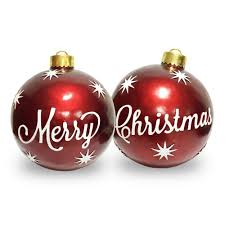 national tree company 26 in set of 2 ornaments merry and