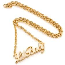 ladies gold necklace images King ice lil baby gold women 39 s necklace women 39 s line king ice jpg