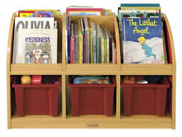ecr4kids colorful essentials toddler double sided book stand