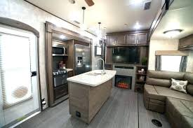 5th wheel with living room in front rv living room the ultra lite receives rv raised living room