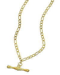 gold necklace with bar images 9 carat gold t bar necklace j d williams jpg