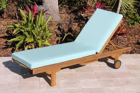 Patio Furniture With Sunbrella Cushions Decor Tips Comfortable Outdoor Teak Wood Lounge Chair With Fabric