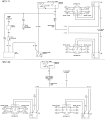 1968 camaro a complete front headlights wiring diagram rally