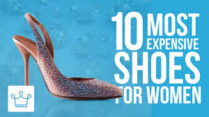 world s most expensive shoes top 10 world u0027s most expensive shoes for women youtube