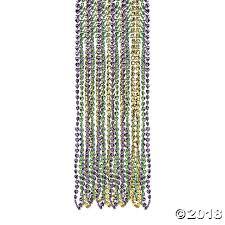 diy mardi gras bead bandana shaped mardi gras bead necklaces