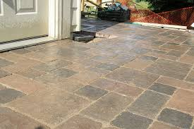 Large Pavers For Patio 30 Stupendous Paver Patio Designs Slodive