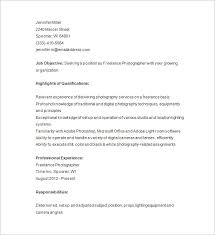 photographer resume template photographer resume template 17 free sles exles format