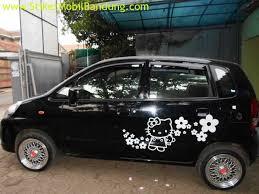 jual sticker kitty mobil call 0813 2158 6000