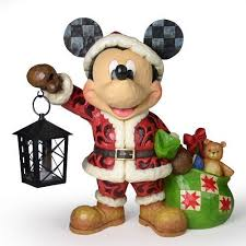 Jim Shore Christmas Decorations Uk by Jim Shore Disney Traditions Spirit Of Christmas Mickey Mouse By