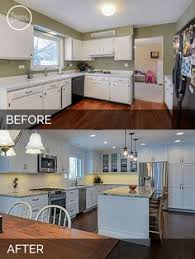 kitchen remodeling ideas before and after justin carina s kitchen before after pictures kitchens