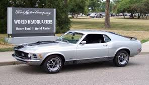 1970 Mustang Mach 1 Black Silver 1970 Mach 1 Ford Mustang Fastback Cool Photo