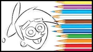 how to draw timmy turner from fairly oddparents youtube