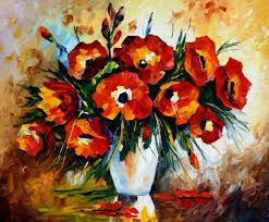 Best Paintings by 28 Flowers On Canvas Simple Flower Paintings On Canvas