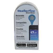 amazon com weatherflow wind meter for smart phone sports u0026 outdoors