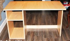 Diy Simple Wood Desk by Diy Simple Computer Desk Howtospecialist How To Build Step By
