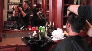 men u0027s hair cut u0026 straight shave roosters men u0027s grooming center