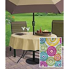 Tablecloth For Umbrella Patio Table High Quality Outdoor Tablecloths Umbrella With