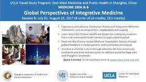 Chinese Study by Travel Study Program In Shanghai U2013 Ucla Center For East West Medicine