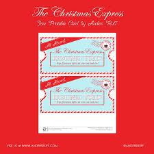 ruff draft free printable christmas express ticket anders ruff