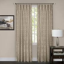 Curtain Hooks Pinch Pleat Windsor Pinch Pleat Curtain Panel Walmart Com