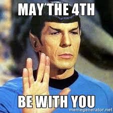 Star Wars Day Meme - happy star wars day meme guy