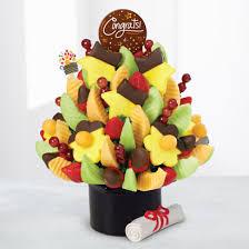 dipped fruit baskets graduation fruit baskets arrangements edible arrangements