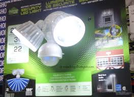 home zone security led motion light costco sale home zone security led light 29 99 frugal hotspot