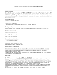 Sample Resume For Sql Developer by Resume Profile Example Personal Trainer Communication Skills