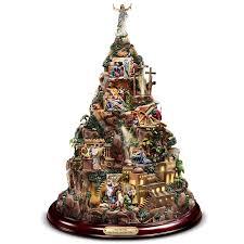 Thomas Kinkade Christmas Tree For Sale by Amazon Com Thomas Kinkade Christian Tabletop Home Decor Faith