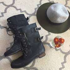 womens black combat boots size 11 black womens combat boots size 11 w 11 from karla s closet on poshmark