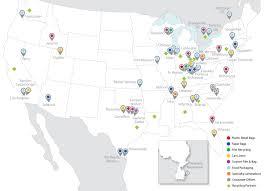 Sidney Ohio Map by Locations Novolex