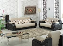 Two Different Sofas In Living Room Living Room Ideas Leather And Fabric Brown Leather Sofa With